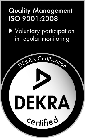 Barracuda Holdings Dekra ISO 9001 2008 Certified
